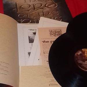 1978 The Lord of The Rings Vinyl